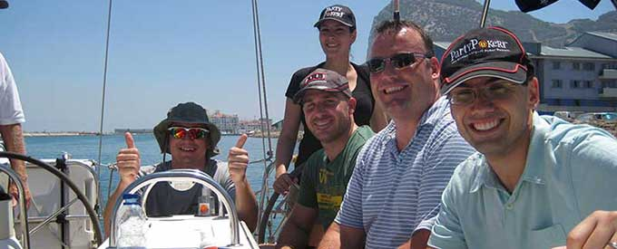 RYA Competent Crew Sailing Courses in Gibraltar and Spain