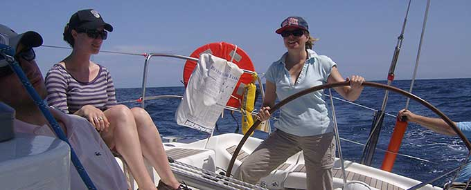 RYA Coastal Skipper Sailing Courses in Gibraltar and Spain with ROCK