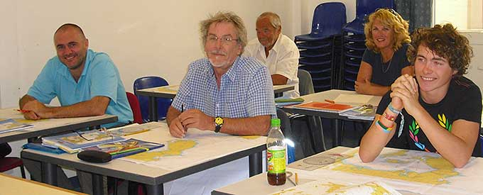 RYA Day Skipper Shorebased Theory Course in Gibraltar and Spain