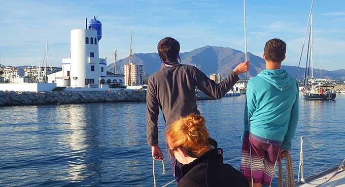 Atlantic milebuilders with ROCK Sailing